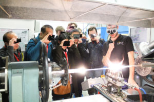 Workshop technologie optických vláken